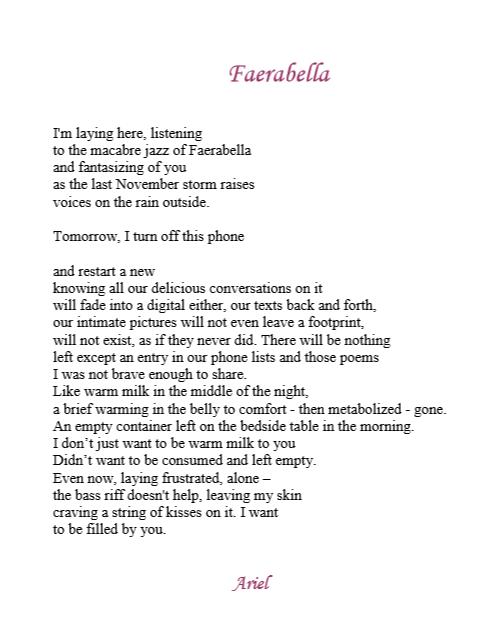 Faerabella by Ariel