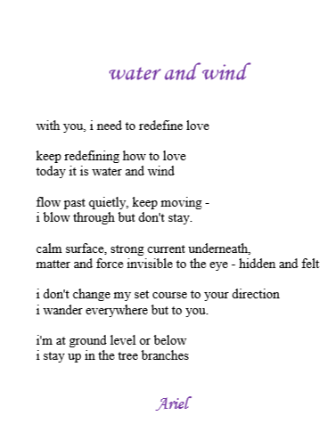 Water and Wind by Ariel
