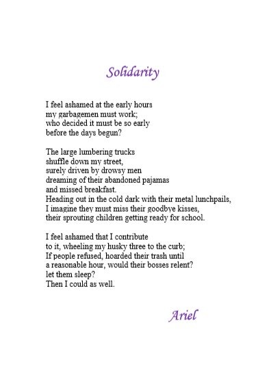 Solidarity by Ariel